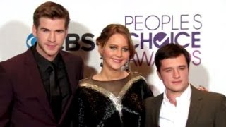 Hunger Games TOPS At People's Choice Awards