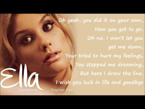 Ella Henderson - Missed (Official Studio Version) Lyrics On Screen [Full Length] New