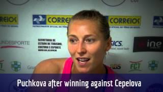 Olga Puchkova é semifinalista do Brasil Tennis Cup