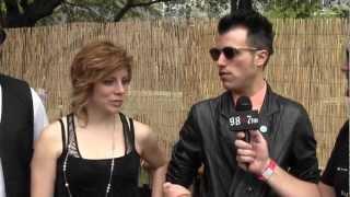 Neon Trees Interview w/ 987FM at SXSW 2012: part1