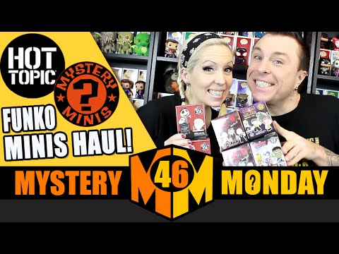 Funko Mystery Minis Haul : Hot Topic Exclusives