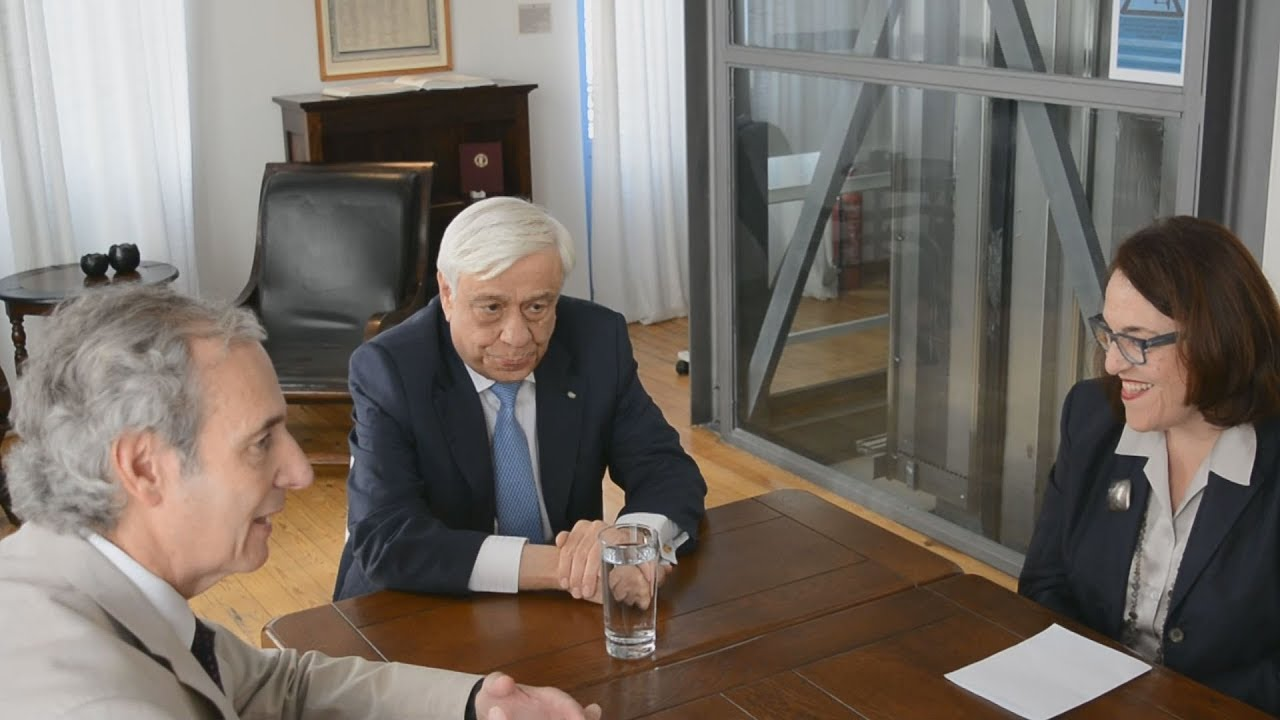 Ο Πρόεδρος της Δημοκρατίας Προκόπης Παυλόπουλος στο Κέντρο Ελληνικών σπουδών, στο Ναύπλιο