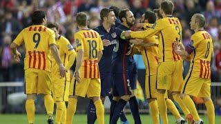 Video Barcelona vs. Atletico Madrid (Fights, Fouls, Red Cards) MP3, 3GP, MP4, WEBM, AVI, FLV Juli 2019