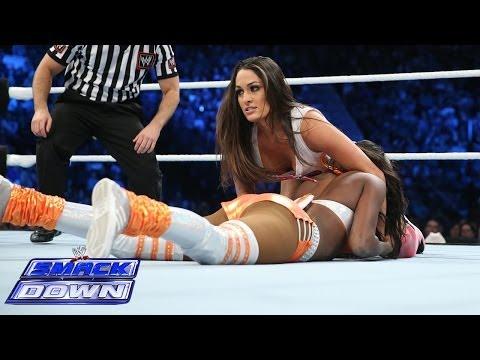 WWE divas fighting each other