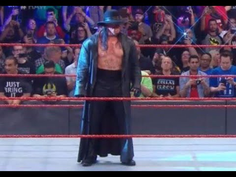 The Undertaker regresa a Raw después de WRESTLEMANIA 35