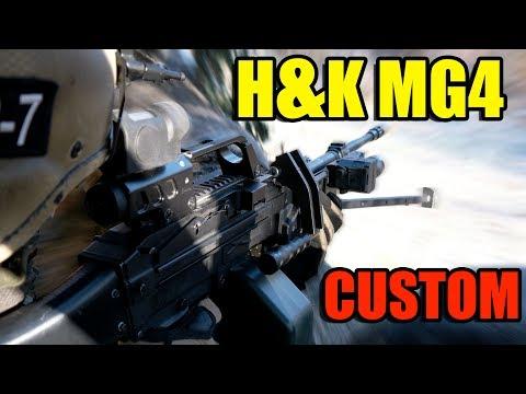 H&K MG4 CUSTOM AIRSOFT 0,5J [DE/4K]