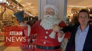 Santa Claus Is From Turkey? BBC News