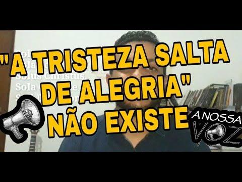 """Frases tristes - """"A TRISTEZA SALTA DE ALEGRIA"""" NÃO EXISTE"""