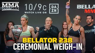 Bellator 238 Ceremonial Weigh-In Highlights - MMA Fighting by MMA Fighting
