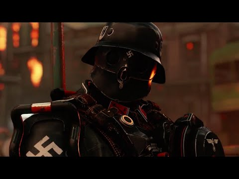 Wolfenstein 2: The New Colossus Official Gameplay Trailer