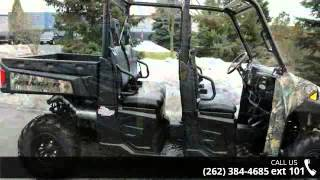 3. 2015 Polaris Ranger Crew 570 Full-Size EPS Pursuit Camo  ...