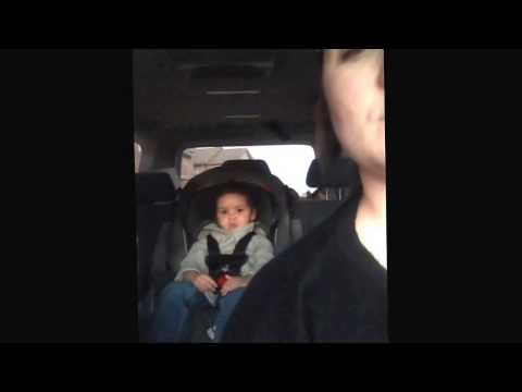 VIDEO: Baby GETS SERIOUS Singing