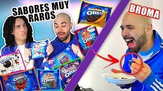 Video BROMA / PROBANDO LOS SABORES MAS RAROS DE OREO - LOS RULES MP3, 3GP, MP4, WEBM, AVI, FLV Oktober 2018