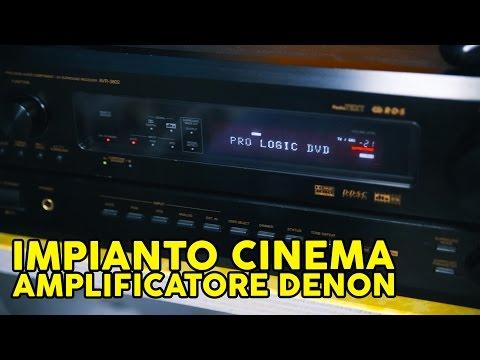Impianto Cinema 5.1: Un'amplificatore di ottima qualita'