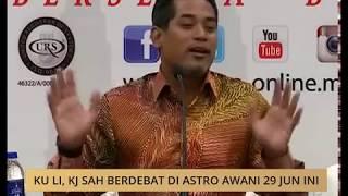 Video Ku Li, KJ sah berdebat di Astro AWANI 29 Jun ini MP3, 3GP, MP4, WEBM, AVI, FLV Juni 2018