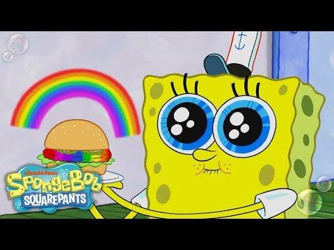 "Download Can SpongeBob's ""Rainbowger"" Survive Plankton's Color Nullifier?   SpongeBob SquarePants   Nick HD Mp4 3GP Video and MP3"