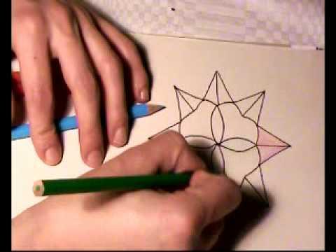 Stern malen für Kinder