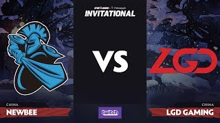 Newbee против LGD Gaming, Первая карта, Playoff SL i-League Invitational S4