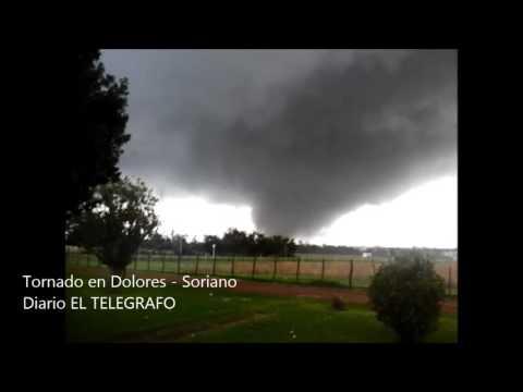 Tres muertos y 200 heridos dejó el tornado en Uruguay