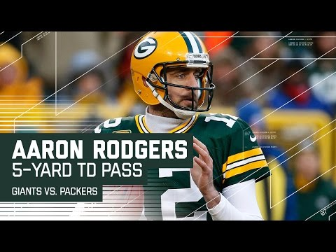 Rodgers Makes 2 Great Throws to Take the Lead! | Giants vs. Packers | NFL Wild Card Highlights (видео)