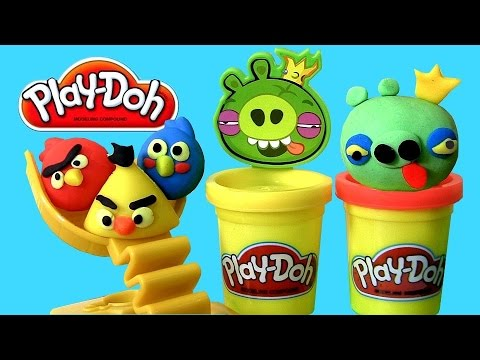 birds - Welcome to Blucollection ToyCollector. This is Play Doh Angry Birds Build 'n Smash Game. Build your own battle scene with your favorite AngryBirds characters and lay waste to the pigs from...