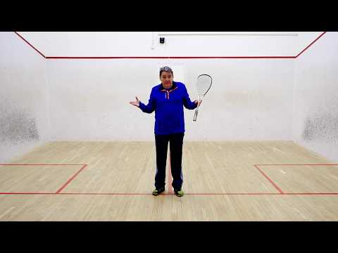 Squash tips: Playing different styles with David Pearson - How to play a runner