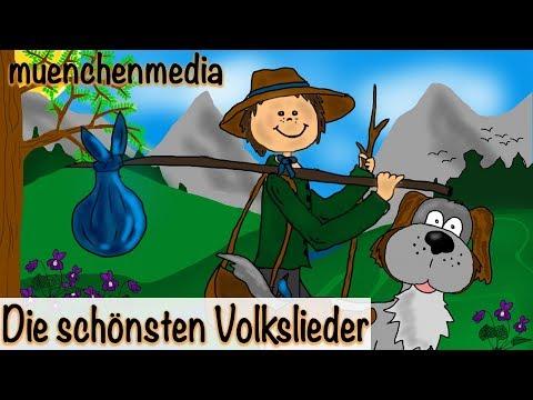 Kinderlieder - Die schönsten Volkslieder - Video Mix - Kinderlieder zum Mitsingen