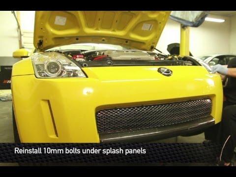 Mishimoto Nissan 350Z / Infiniti G35 03-09 Oil Cooler Kit Install Video