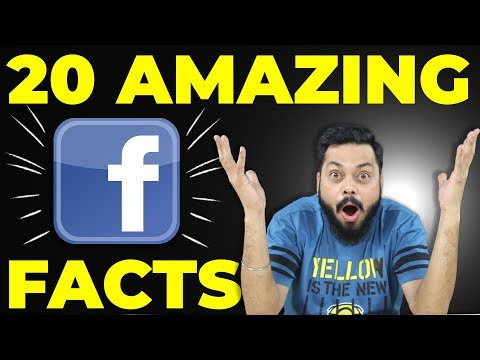 TOP 20 AMAZING FACTS YOU NEVER KNEW ABOUT FACEBOOK 2018 (Hindi)
