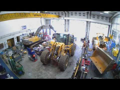 Refurbishment of a Volvo L180F