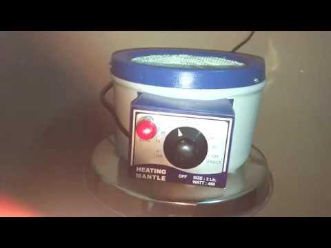 Heating mantle operating manual