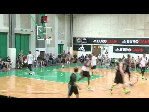 Moussa Diagne adidas EuroCamp 2014 Highlights