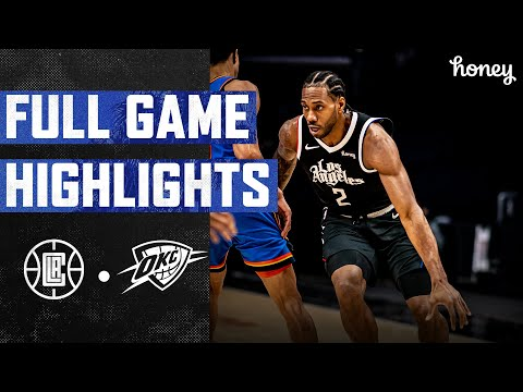 Clippers Beat Thunder Behind Kawhi Leonard's 34 Points | Honey Highlights