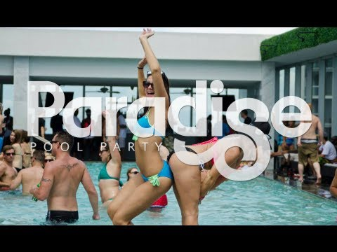 Video Best Pool Party in Miami - Paradise Sunday's - Vibrant Media Productions download in MP3, 3GP, MP4, WEBM, AVI, FLV January 2017