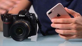 Video iPhone 7 Plus VS DSLR Camera MP3, 3GP, MP4, WEBM, AVI, FLV Juli 2018