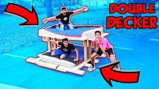Video BED SURFING DOUBLE DECKER ELECTRIC BED!! MP3, 3GP, MP4, WEBM, AVI, FLV Maret 2018