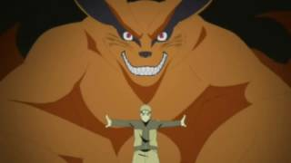 Naruto Links With Kurama For The First Time  English Dub