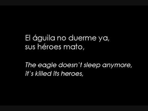 , title : 'Donde el Aire es Ceniza- english translation + Spanish lyrics'