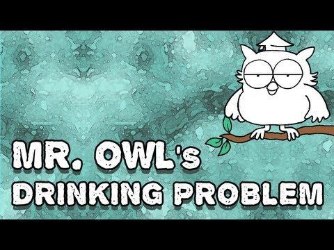 Mr. Owl's Drinking Problem (Tootsie Pop Parody) (Strippy Toons)
