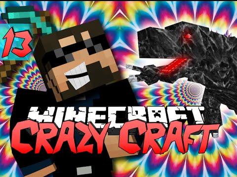 Minecraft CRAZY CRAFT 2.0 | Mobzilla Troll [13]