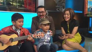 Video Dia - Anji (Erwin, Erlan, Prabu, Daniar) Cover Nyanyi di Studio MP3, 3GP, MP4, WEBM, AVI, FLV Oktober 2018