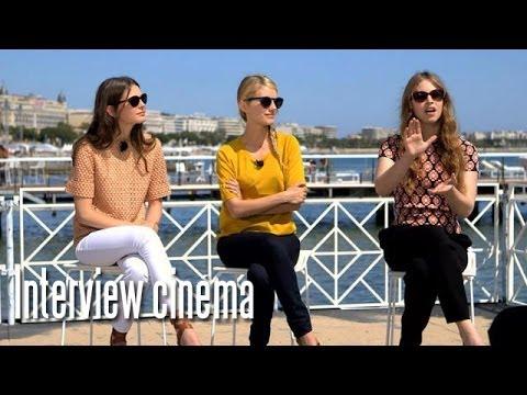 Melanie Laurent - Mélanie Laurent et ses deux interprètes Lou de Laâge et Joséphine Japy reviennent sur leur aventure cannoise et leur travail pour leur film