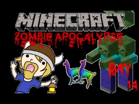 Zombie Apocalypse Minecraft - Day 14