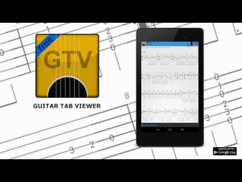 Video of Guitar Tab Viewer