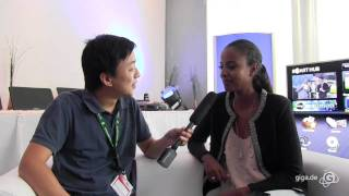 IFA 2011 - GIGA Trifft Topmodel Sara Nuru