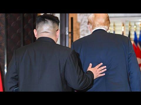 Singapur: Die zwei mögen sich sehr - Trump lädt Kim ...