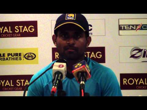 Sangakkara interview during a function held at the Grange St Paul's hotel - London