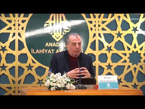 """Prof. Dr. Adnan DEMİRCAN ile """"İslam Tarihinde İlk Fitne"""" Konulu Konferans"""