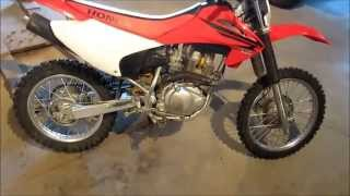 4. How to Rejet Honda CRF150 - Jetting, Air filter, Exhaust Baffle