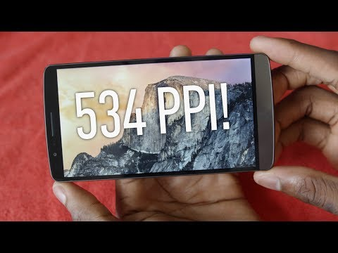 Display - LG G3 2560x1440 vs 1080p - Can you see the difference? LG G3 Impressions: http://youtu.be/d6605kiXmm8 OSX Yosemite 5K wallpaper: http://i.imgur.com/jaYainp.j...